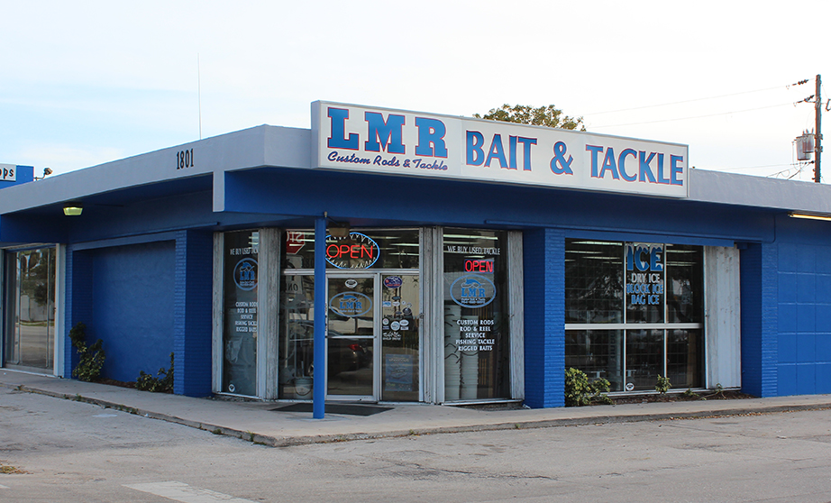 Outside of LMR Tackle (What you would see driving south on federal)