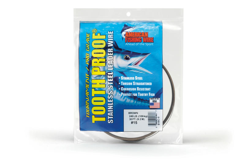 AFW Tooth Proof Wire Leader