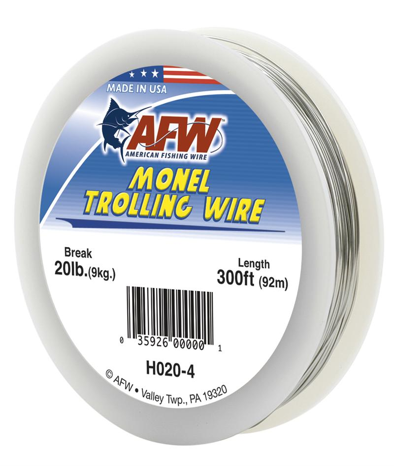 Afw Monel Trolling Wire American Fishing Wire Trolling Wire Rigging Wire Nose Wire