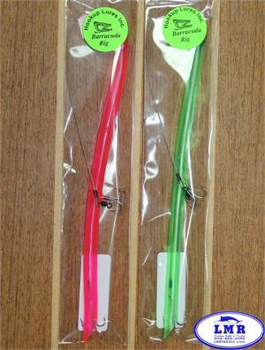 barracuda rig hot pink green lure