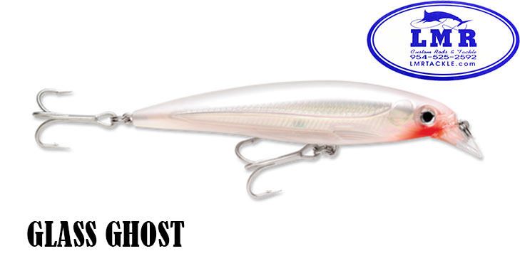Rapala XR-8 XRAP Slashbait Long Casting Suspending Lure Glass Ghost New