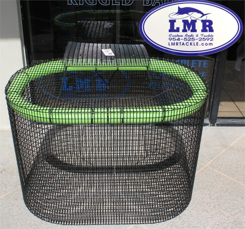 Custom Bait Pens 115, 120, & 230 Gallon - Round, Large & Jumbo