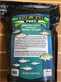 Aquatic Nutrition Live Bait Feed (Keep your baits happy and healty while they are penned up)