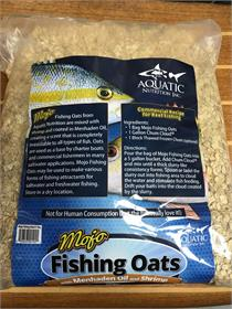 Mojo Oats, Dry Chum Soaked in Menhaden Oil