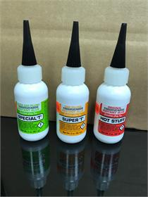 LMR Tackle Satelite City Special T Glues