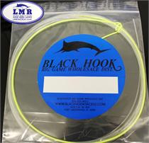 Black Hook Tackle Custom Wind On Leader (Hi-Viz Yellow & Black)