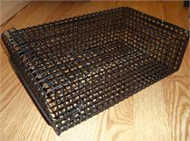 chum basket made from stainlees steel,the best on ever made, easiest to use