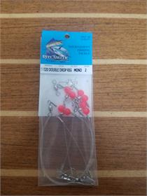Rite Angler Double Drop Rig (Mono), Ready Rig, LMR Tackle