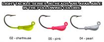 Hookup Lures Light Tackle Series Jig Heads