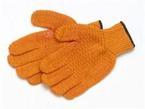 LMR Tackle Orange No-Slip Gloves
