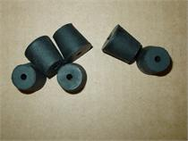 Black Hook Tackle Rubber Hook Stoppers